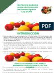 Ley Que Aprueba Las Normas de Promocion Del Sector Agrario