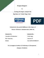 Vishal and Bigbazar Comparative