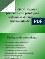 prevencion de urgencias en el consultorio odontologico