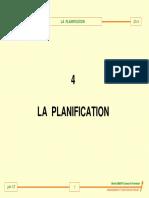4 La Planification
