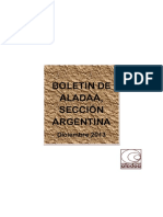 Aladaa. Seccion Argentina. Boletin Diciembre 2013 Ver Convocatorias