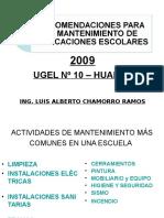 Recomendaciones Para El Mantenimiento de i.e.