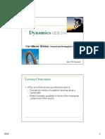 Dynamics Lecture 2a