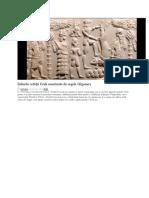 Zidurile Cetatii Uruk Construite de Ghilgames