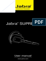 Jabra Supreme Web Manual
