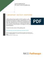Caesarean Section Caesarean Section Overview