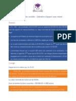 Exercice Corrigé, Libération Avec Retard