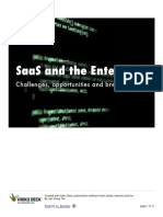 SaaS and the Enterprise