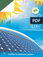 Lobel Solar PV Catalog