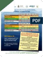 Lerici Calendario Domestiche 2016