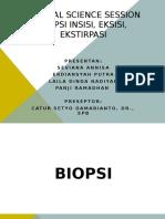Biopsi Insisi & Eksisi