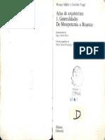 Atlas de Arquitectura 1 de Mesopotamia a Bizancio W Muller G Vogel Alianza 19952