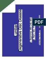 Lumbar Degenerative Disc Disease1