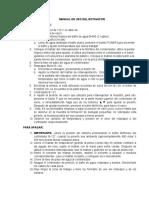 Manual de Uso Del Rotavapor