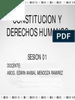Sesion I Derechos Humanos