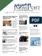 Visayan Business Post 30.05.16