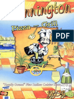 Pennington Pizza-Grill Menu