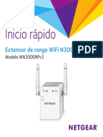 Netgear WN3000RPv3 Manual