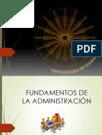 Unidad i Fundamentos de La Administracion