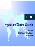 Vegoils and Tanker Markets