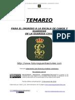 TEMARIO FUTUROSGCENERO2016