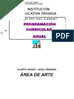 Programación Curricular Anual Oficial de Educacion Artistica