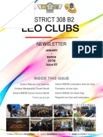 District 308 B2 Leo Clubs Newsletter January-March 2016 3rd Issue