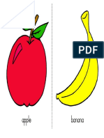 Large Fruit Words