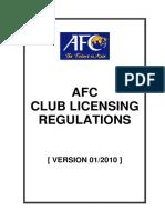 1) AFC Club Licensing Regulations