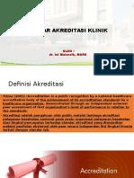 Standar Akreditasi Klinik - Modified
