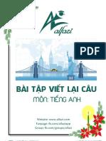 [Alfazi Team] Eng - Bài Tập Viết Lại Câu
