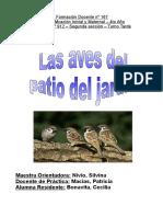 Bonavita Cecilia - Jardin 912 - Proyecto las aves del patio del jardin - 2da seccion - version 1.doc