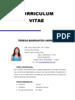 Curriculum Tere