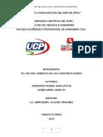 Monografía del cemento- universitario