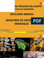 Muestreo de Depósitos Minerales