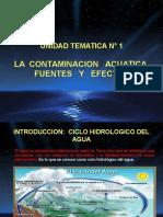 Unidad N°1 Contaminación Acuatica, Fuentes y Efectos