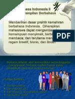 Dasar-dasar Bahasa Indonesia