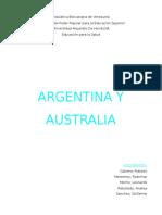 Australia y Argentina