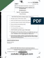 CSEC Jan 2016 - Mathematics - Paper 02