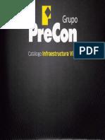 Catálogo Infraestructura Vial (PRECON)