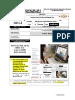 T.a Evaluación y Control de Proyectos
