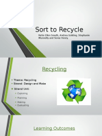 Sort to Recycle