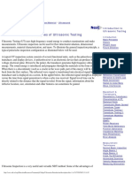 Ultrasonic Testing Theory - Ndt Research