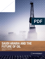 Wikistrat Report - Saudi Kingdom & the Future of Oil