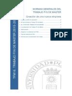 1B CEPADE NORMAS GENERALES TFM  2015-16 CREACION EMPRESAS.pdf