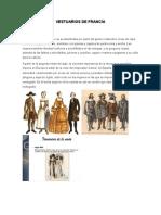 Vestuarios de Francia
