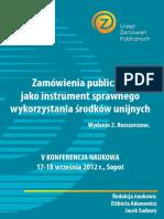 V Konferencja Naukowa Wyd.ii