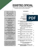 Registro Oficial Res 042 BPM Alimentos