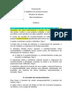 Fichamento Horkheimer a Dialética Do Esclarecimento