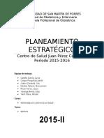 Plan Estrategico Administracion i Avanzando